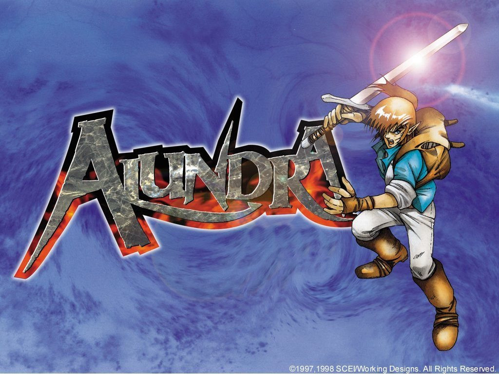 alundra playstation game poster wallpaper